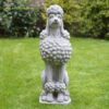 Sitting-Show-Poodle-Garden-Statue
